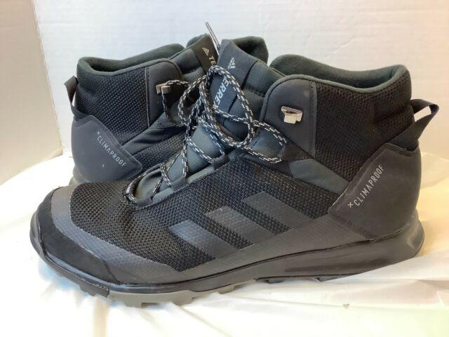 Size 10 - adidas TERREX Tivid Mid ClimaProof Core Black