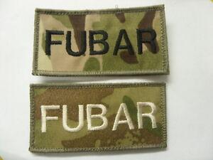 TRF-MTP-KIT-FUBAR-MORALE-BADGE-PATCH-HOOK-amp-LOOP-BACKED-UBACS-MILITARY