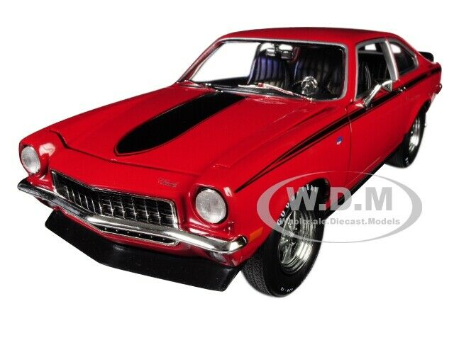1972 Chevrolet Vega Yenko Stinger Mcacn Red Ltd 1002 Pcs 1 18 Autoworld Amm1156