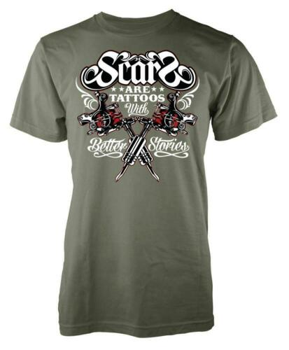 Scars Are Tattoos With Better Stories Adult T Shirt