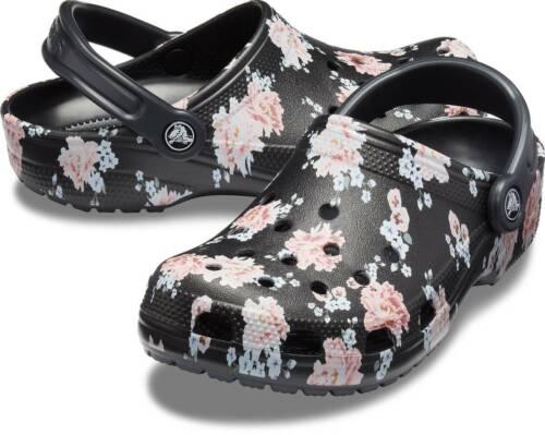 Crocs Classic Printed Clog Unisex ClogsSlippersgarden shoes NEW
