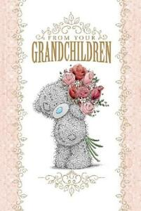 ME-TO-YOU-FROM-YOUR-GRANDCHILDREN-MOTHER-039-S-DAY-CARD-TATTY-TEDDY-BEAR-NEW-GIFT