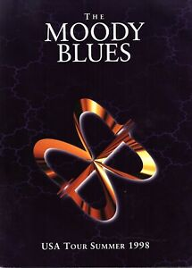 MOODY BLUES 1998 USA SUMMER TOUR CONCERT PROGRAM BOOK BOOKLET / NMT 2 MINT