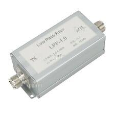 Rf Low Pass Filter Lpf 10w For Shortwave Radio Ssb Cw Am Fm Lpf 10