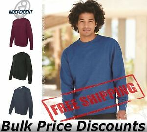 Independent-Trading-Co-Midweight-Crewneck-Sweatshirt-SS3000-up-to-3XL