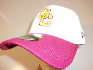 huge discount ac0b0 709ff Image is loading New-Era-39Thirty-USC-Trojans-Cap-Hat-men-