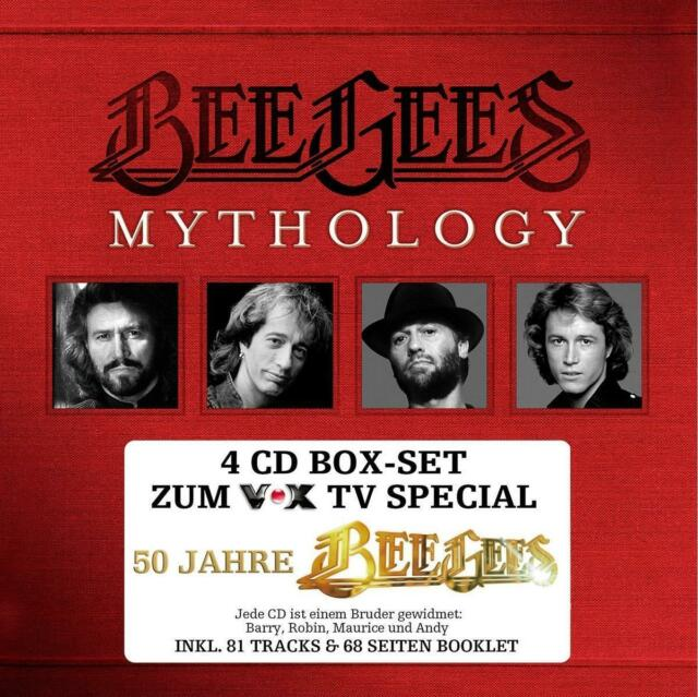 Mythology - 50 Jahre Bee Gees (Box-Set) von The Bee Gees (2013)