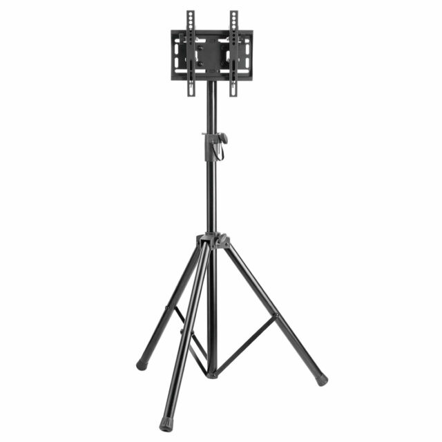 "Compact & Portable Mobile TV Stand with Tripod Legs for 23"" - 42"" TVs LED, LCD"