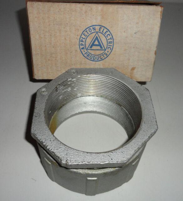 """Appleton EC-400 Conduit Union 4/"""" EC400 Coupling 3 Piece"""