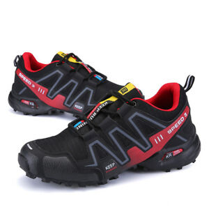 Trainers Mens Hiking Shoes Breathable Running Sports Sneakers Athletic Size 7-11