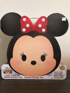 Details about Disney Minnie Mouse Tsum Tsum Deluxe Design Art Arts Craft  Frame Set w/ Freebies