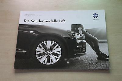 Preise & Technik Life Prospekt 12/2012 171640 Sondermodelle Vw