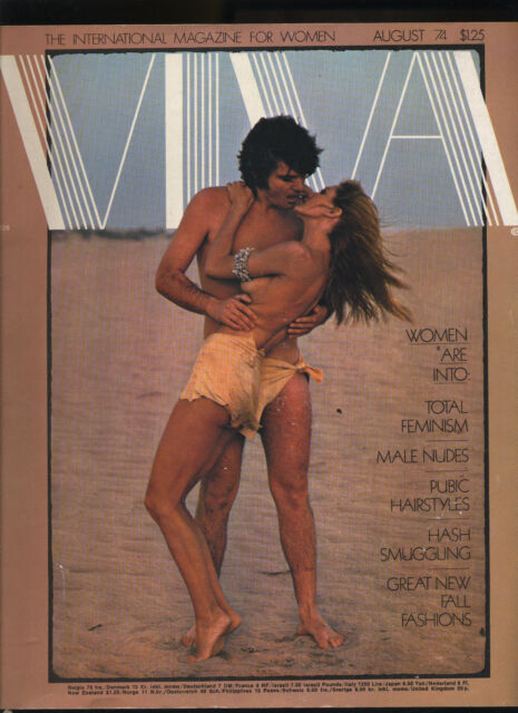 VIVA by PENTHOUSE ARIANNA HUFFINGTON LOU REED NUDE MEN PLAYGIRL 8-74 AUGUST 1974