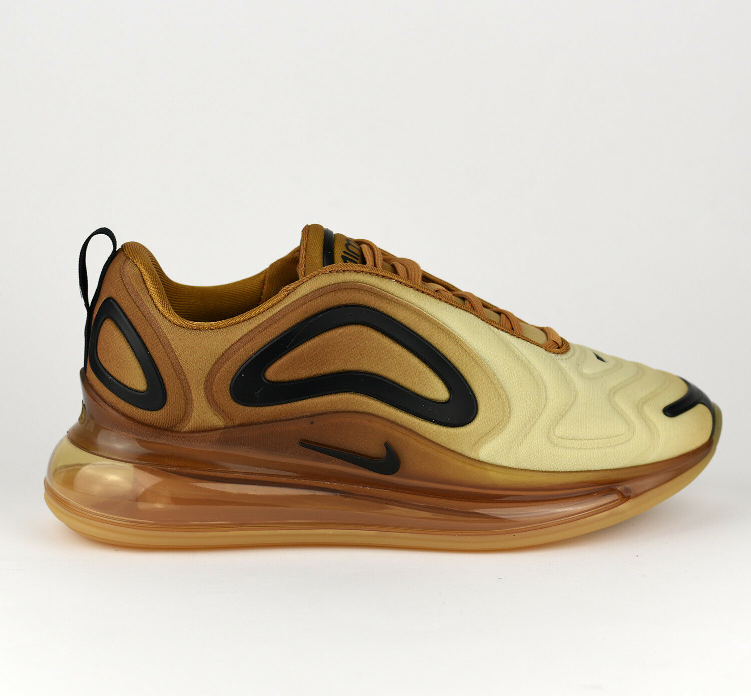 Nike WMNS Air Max Max Max 720 Women Lifestyle Sneakers New Wheat Black gold AR9293-700 923e8c