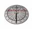 thumbnail 4 - Dragon Fly Garden Sundial Garden Decor Rome Steel & Brass Vintage Sundial Gift