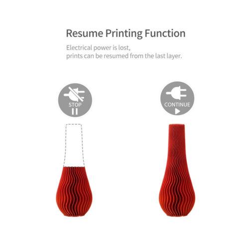 Creality Ender 3//Ender 3 Pro 3D Printer 220X220X250mm DC 24V 1.75mm PLA US Stock