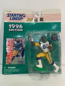 Rams Isaac Bruce Starting Lineup Vtg 1996 Edition Collectible Sports Figure