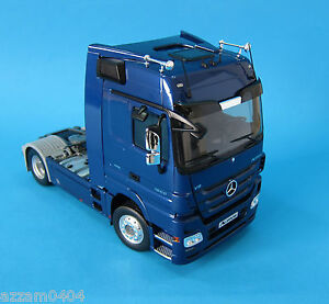 Eligor Mercedes Benz Actros Truck 1 18 Scale Die Cast Blue Rare Ebay