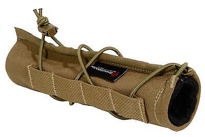 Armageddon Coyote Brown Suppressor Cover AG0213 fits Silencerco Harvester