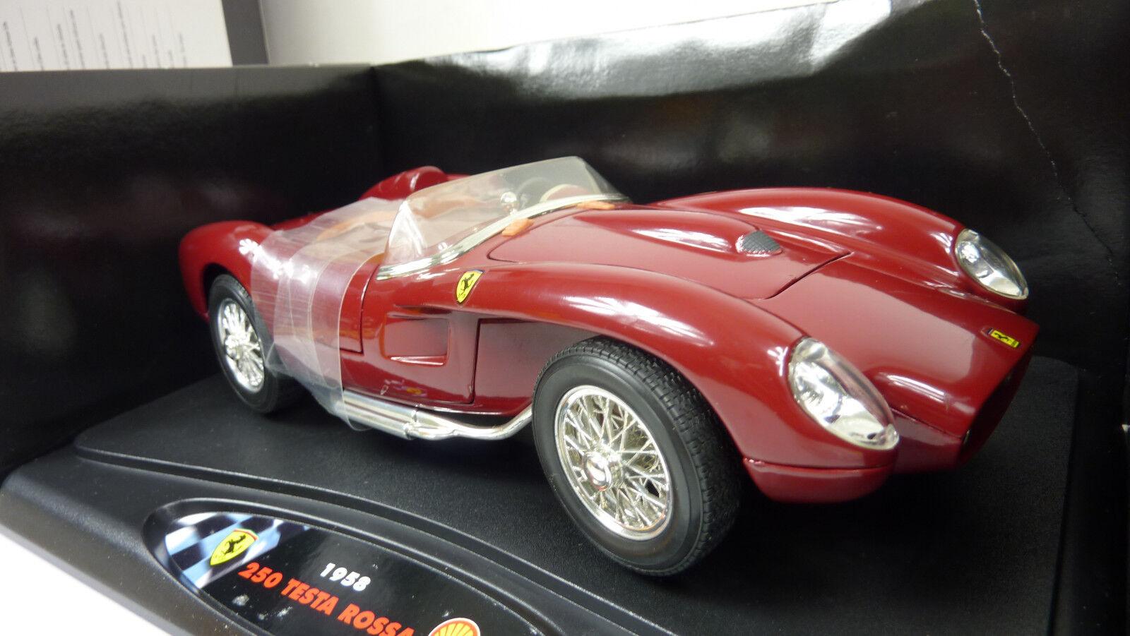 Shell Classico 1 18 Ferrari 250 Testa Rossa 1958  Shell Tanksäule in OVP (A786)  | Deutschland Shop