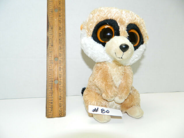 AS IS NO TAG Item  80 Rebel the Meerkat RETIRED TY Beanie Boos Boo 6 e803134b7c4