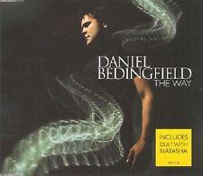DANIEL BEDINGFIELD The way & AINT NOBODY LIVE CD Single USA Seller SEALED
