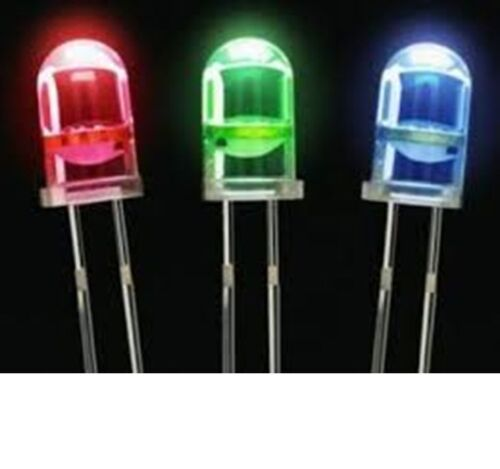 LED Diode UltraBright Red//Green//Blue//White//Yellow//Blue 3-5-10mm Clear//Diffused