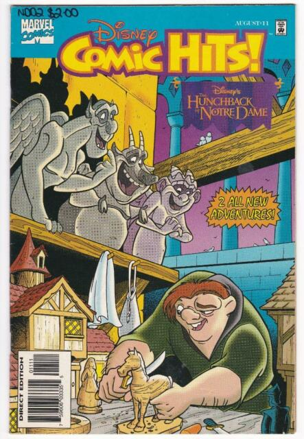 Disney Comic Hits The Hunchback of Notre Dame #11 - Marvel - 1996