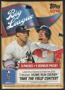 2019-Topps-Big-League-Baseball-MLB-Blaster-Box-54-Cards-Kris-Bryant-Cut-Out-Card