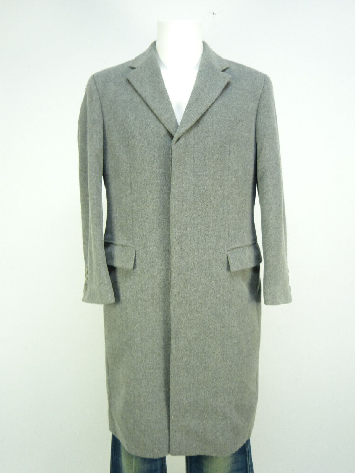 HUGO BOSS  MANTEL GR 48   grey & WINTERWARM - MIT CASHMERE   ( N 9900 )