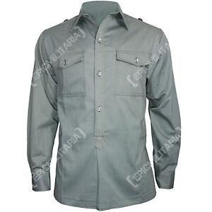 los Army Grey Ww2 Top de Mouse Cotton Todos M43 Military Camisa German servicio tamaños Repro 8dwFWqn8v