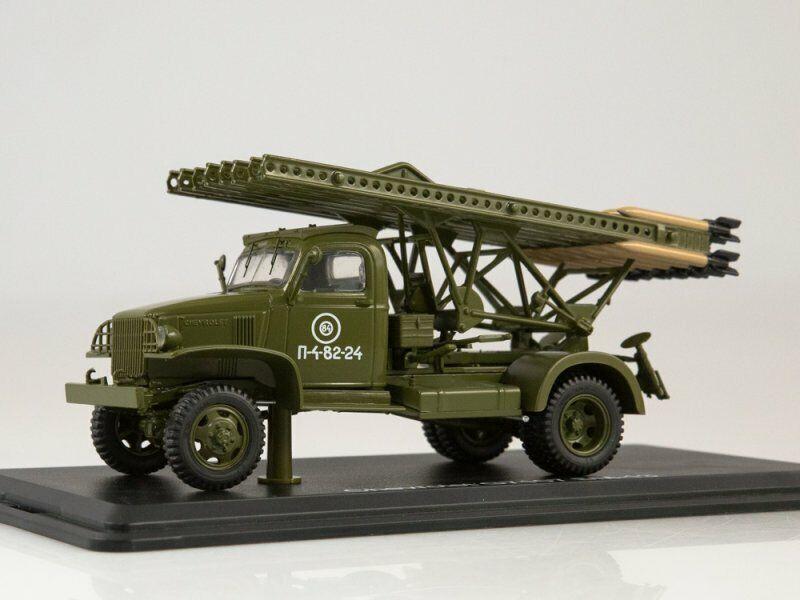 Chevrolet G7107 BM-13 Katyusha (Start Scale Models), collection model cars 1 43