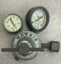 Harris Dual Guage Gas Regulator 25 100