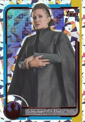 Topps Star Wars les dernières JediFOIL paillettes cartes sélection unique NEUF