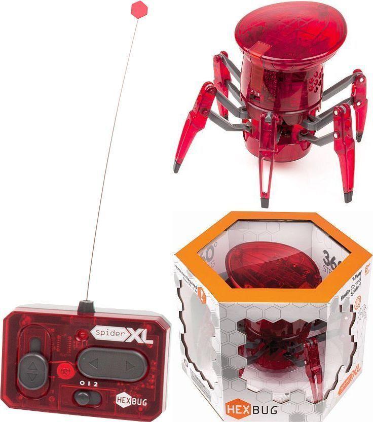 Hexbug Robot XL SPIDER RC 2 Canali Telecomando LED Testa Gigante Ragno Hex Bug