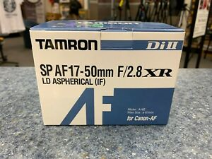 Tamron-USA-SP-A016-17-50mm-f-2-8-LD-XR-Asferica-Canon-II-Di