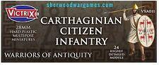28mm Carthaginian Citizen Infantry By Victrix, Hail Caesar, Swordpoint Ancients
