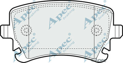 Apec Rear Brake Pads Set OE Quality Replacement PAD1298