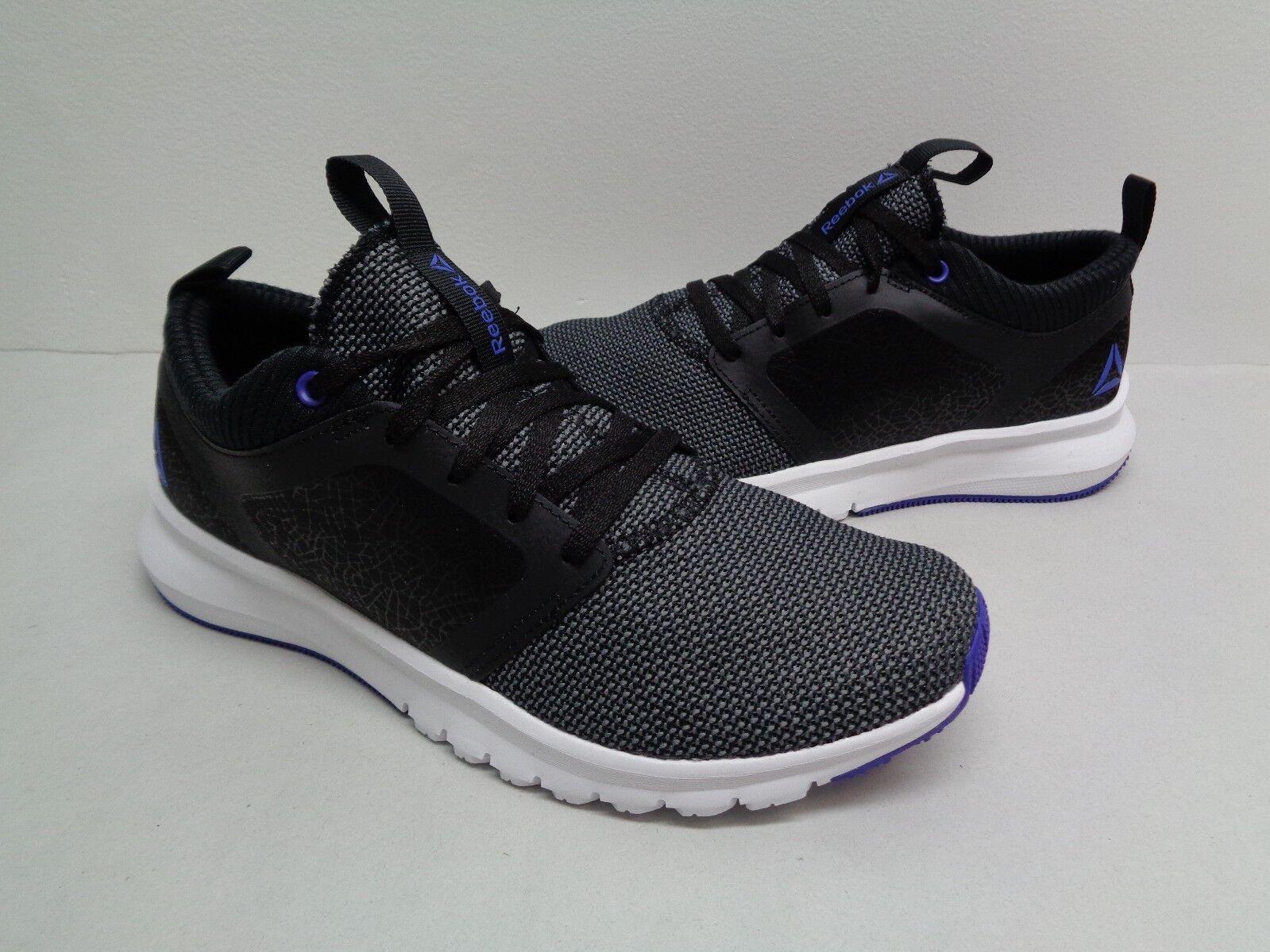 Reebok Size 7 PRINT ATHLUX SHATR Black Purple Purple Purple Running Sneakers New Womens shoes 561c89