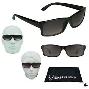 3483171e2a Image is loading Rectangle-Square-Bifocal-Sunglasses-Men-Women-1-50-