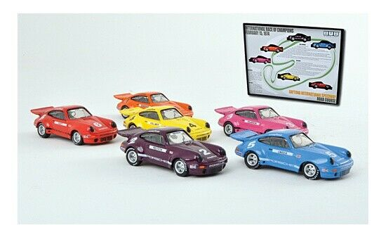 Envío 100% gratuito  06942 - Bub Porsche 911 3.0 rsr-Iroc-set  6 6 6 unidades - 1 87  precio razonable