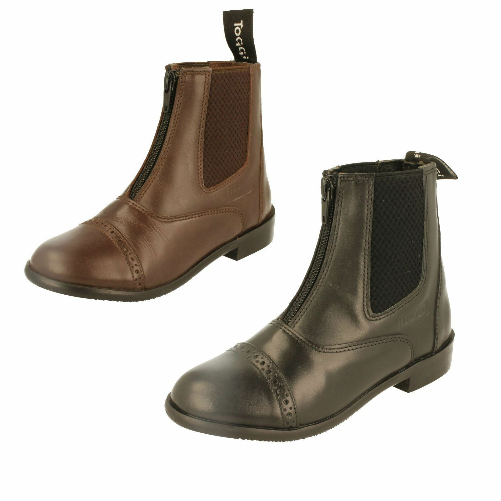 Childrens Toggi Leather Jodphur - botas - Jodphur Augusta 1b9bab