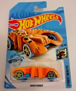 Arana-De-Velocidad-Hot-Wheels-de-Mattel-totalmente-Nuevo-Sellado