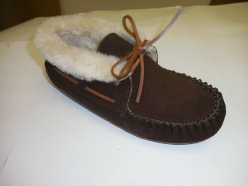 Minnetonka Moccasin Women/'s Chocolate Chrissy Bootie Moccasins Size 6 M