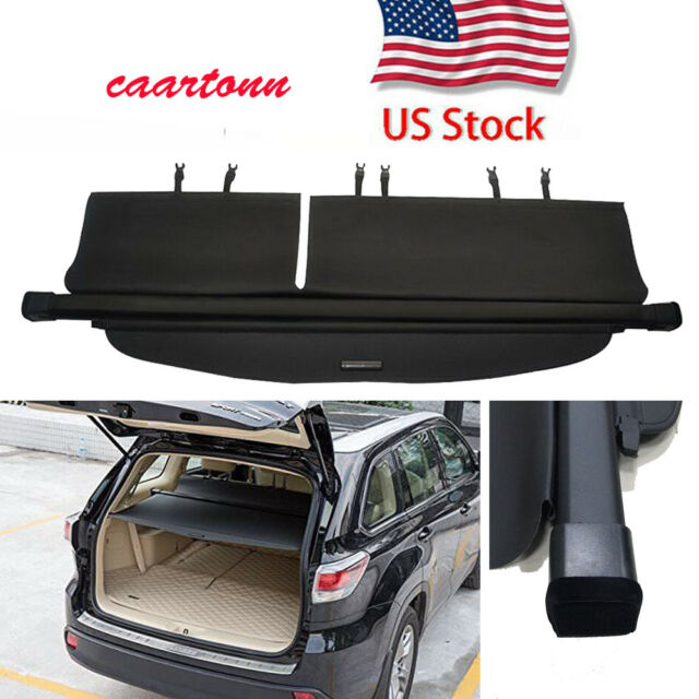 Rear Trunk For2014-2020 Toyota Highlander Cargo Cover