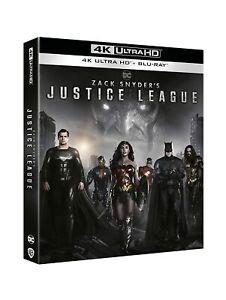 JUSTICE LEAGUE ZACK SNYDER'S 4K UHD + BLURAY Nuovo Originale Sigillato DC COMICS