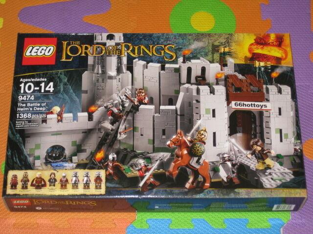 Lego 9474 El Señor De Los Anillos La Batalla De Helm's Deep Nuevo
