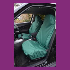 Front Car Van Green Medium Universal Waterproof Airbag Compatible Seat Covers