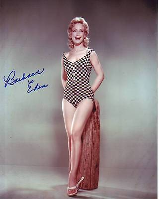 Television Barbara Eden Signed Sexy Bathing Suit Photo W/ Hologram Coa To Ensure A Like-New Appearance Indefinably Autographs-original
