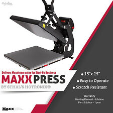 Stahls Hotronix Maxx Clam Heat Press 15 X 15 Free Fedex Ground Shipping